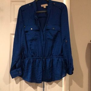 Michael Kors electric ⚡️ blue Blouse